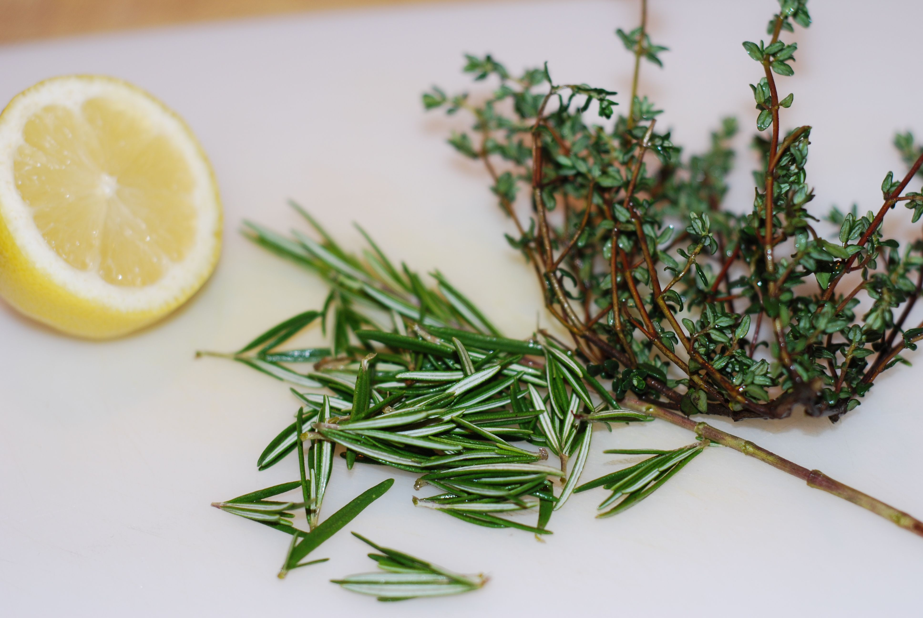 Rosemary And Garlic Simmered Pork Chops Recipe — Dishmaps