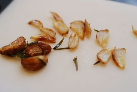Roasted Garlic from Rosemary Garlic Olive Oil