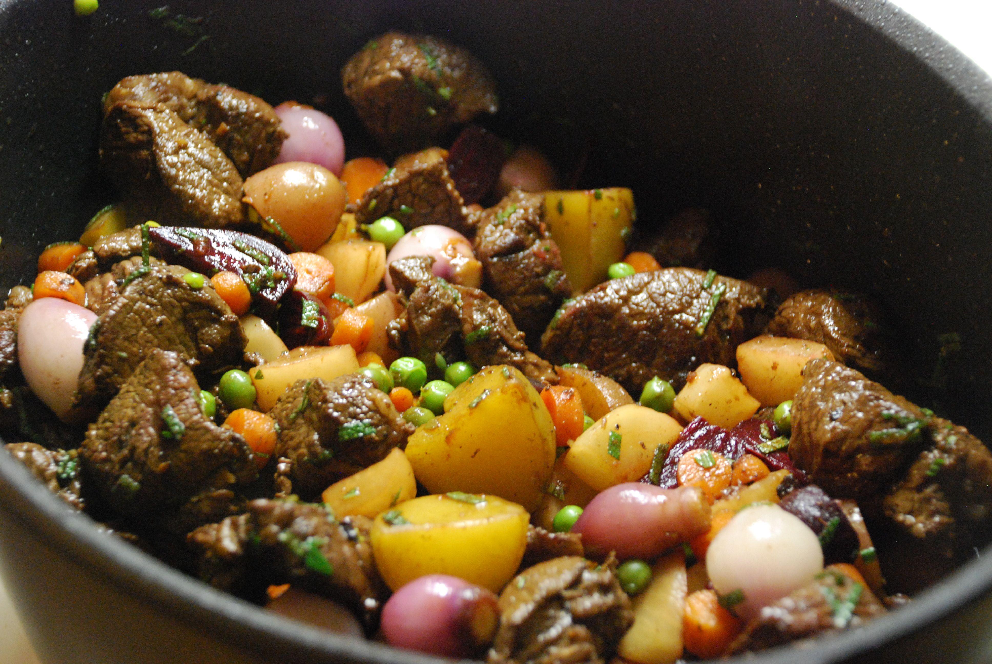 Lamb stew | Hestina's Kardia